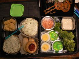 14 th Bento by myfairygodmother
