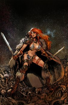 Red Sonja Annual Cover 001 by moritat