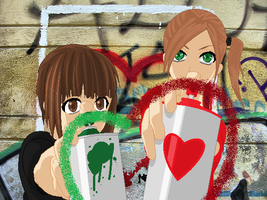 Love in a Can 2013 by MyhemSisters