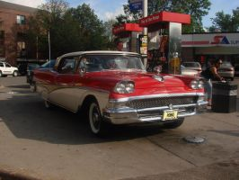 1958 Ford Fairlane Stock by LittleBigDave