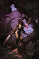 Black God's Kiss by arnistotle