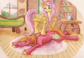 A little to the left by The-Wizard-of-Art