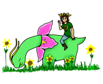 Mikey and Sunflowers by Alison-Earth-Ninja