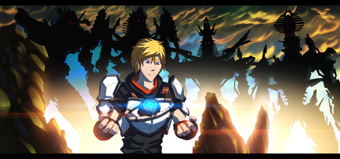 'Virtues of a Leader' - RWBY Jaune Arc w/Primes by GrungeWerXshop
