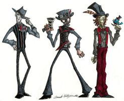 A Steam Powered Giraffe Doodle by DonutTyphoon