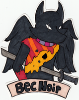 Bec Noir Badge Example by mari-su