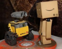 Joshua and WALL-E by JuliaKochetkova