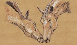 Sketch 02 friendship by Elsouille