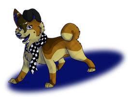 happy late birthday blue by stickerheart