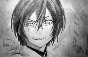 Yato With Dat Smirk Though by KovenantKonceptions