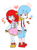The Jumpstyle Clowns by FabyTetrix