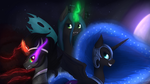 Triumvirate of Darkness by ImShySoIhide