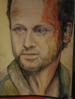 Andrew Lincoln as Rick Grimes by Trunk-of-monkeys