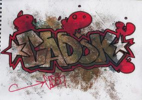 graffiti letters 6 by Mr-Kdoc