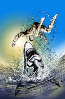 Namor learning photoshop by dfbovey