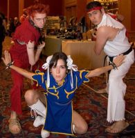 Street Fighter Cosplay by Alluring-Angel