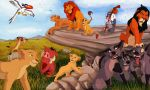 Lion King cast by Gashu-Monsata