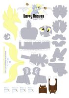 Derpy Papercraft by Kna