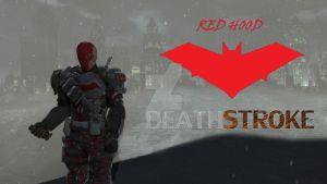 Arkham Knight Red Hood Deathstroke Final by MrJustArkhamGames