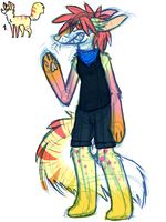 Throws money at designs by Closet-Furry