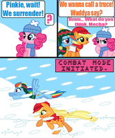 Snowball Fight 9 by Death-Driver-5000