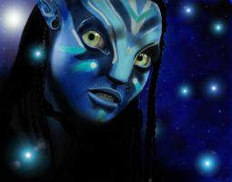 Avatar Neytiri by reggy66
