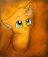 Firepaw by leftysmudgez