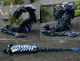 Gift - Kamo's Dragon by Ichi-Black