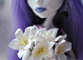 Flowers for monsters: Spectra and sad lilac-2 by ItSurroundsMe