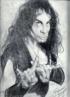 Ronnie James Dio by ArtbyBeans
