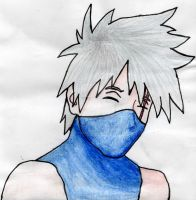 Happy Kakashi by LouAronShinobi