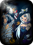 Halloween 2013. A Rayray18 and Kaiomutaru15 collab by kaiomutaru25