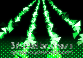 Fractal Brushes II by GENAYNAY