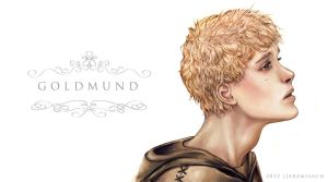Goldmund Illustration - Narcissus and Goldmund by jeremiasch