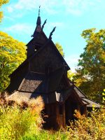 Viking Church by Saxophrenic25