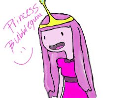 princess bubblegum by mjt2410