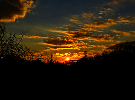 Winter Solstice Sunset -3- by IoannisCleary