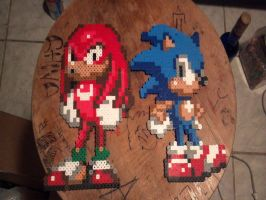 Sonic And Knuckles by xDarkmegaman