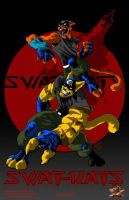 Swat Kats colored by Darkness33