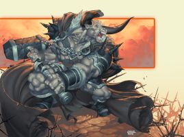 PART MAN PART BULL by chuck-piresART