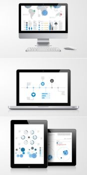 Infographic Elements Template Pack 04 by andre2886