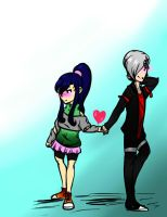 30 day OTP - Day 1: Holding Hands by EpicMickeyX