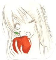 Romeo and Cinderella. Apple by naomicchi-desu