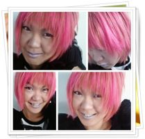 JIKA IS NOW...I CAN HAVE PINK HAIR XD by Jika-Jika