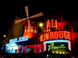 Moulin Rouge by floratatouille