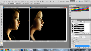 Katniss poster WIP by Mariana-S