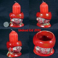 Zombie Voltive Candle Holder by Undead-Art