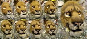 finishing a face. No airbrush used. by Crystumes