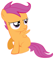 Scootaloo vector 1 by CommyPink