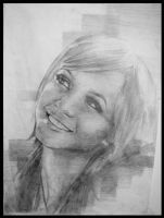 pencil portraits 2 by Cok3ster